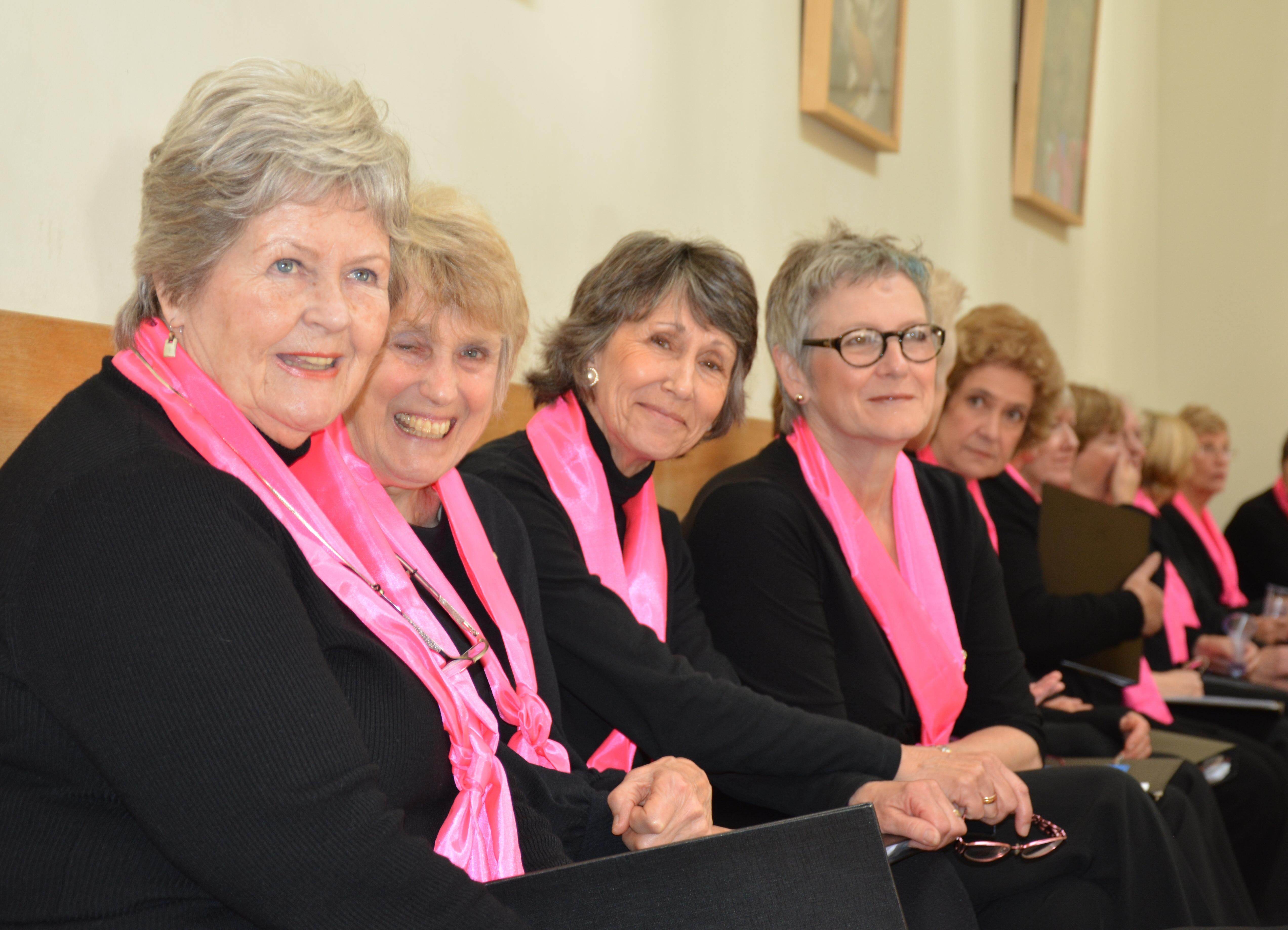 Treble Clef Ladies Singing